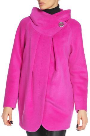 Пальто МИЛЕНА. Цвет: 21, ярко-розовый