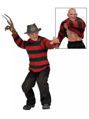 Фигурка Nightmare on Elm Street - 8 Clothed Figure Dream Warriors Freddy Neca. Цвет: темно-коричневый, красный