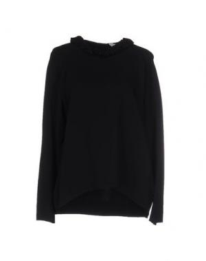 Блузка GUGLIELMINOTTI. Цвет: черный