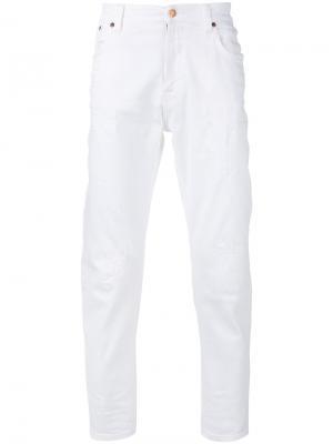 Классические джинсы Nudie Jeans Co. Цвет: белый