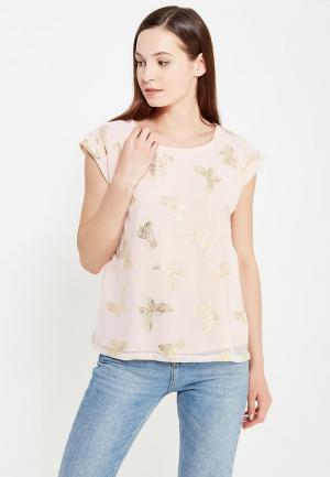 Блуза Y by Yumi. Цвет: розовый