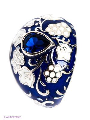 Кольцо SOKOLOV. Цвет: темно-синий, белый