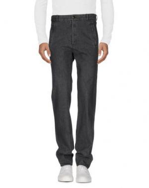 Джинсовые брюки RAF SIMONS. Цвет: черный