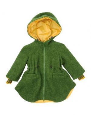 Легкое пальто MIMISOL. Цвет: зеленый