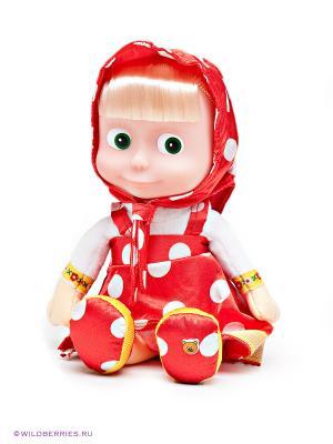 Мягкая игрушка Маша Мульти-пульти. Цвет: красный, белый, желтый
