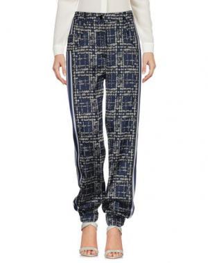 Повседневные брюки OSTWALD HELGASON. Цвет: темно-синий