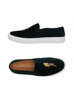 Низкие кеды и кроссовки BING XU. Цвет: темно-зеленый