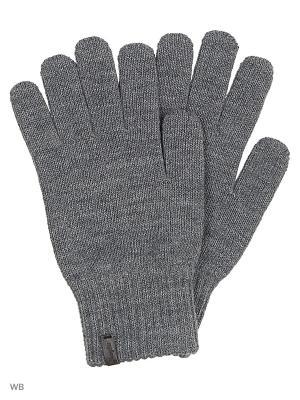 Перчатки Wrangler. Цвет: серый