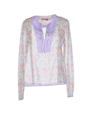 Блузка MANILA GRACE DENIM. Цвет: сиреневый