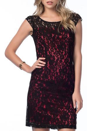 Платье NARAMAXX. Цвет: черный
