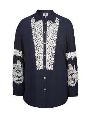 Блуза KR. Цвет: синий