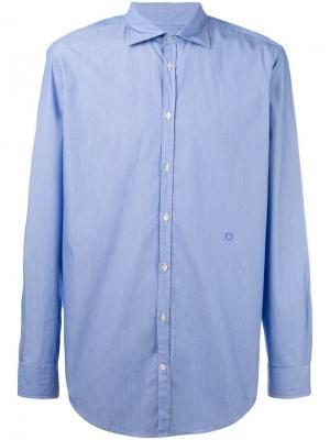 Рубашка Genova Massimo Alba. Цвет: синий