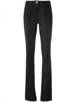 Расклешенные брюки Jitrois. Цвет: зелёный