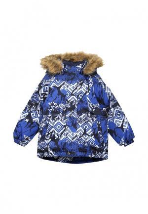 Куртка утепленная Huppa. Цвет: синий