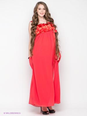 Платье Gemko. Цвет: красный