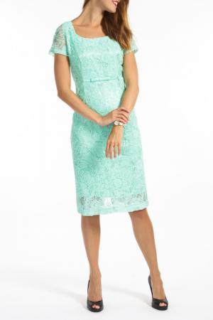 Платье TOK. Цвет: aquamarine