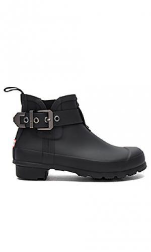 Резиновые сапоги chelsea boot Hunter. Цвет: черный