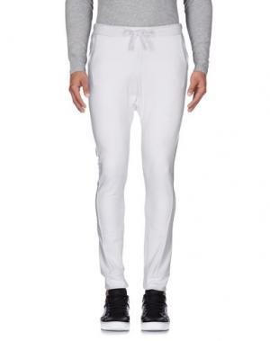 Повседневные брюки PAUL FRANK. Цвет: белый