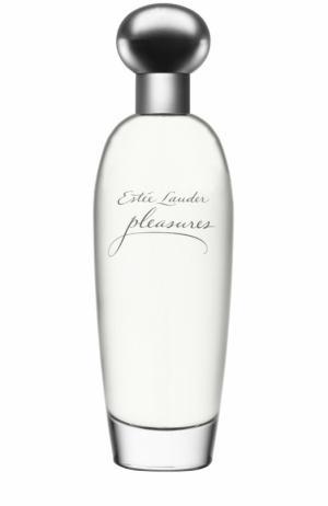 Парфюмированная вода Pleasures Estée Lauder. Цвет: бесцветный