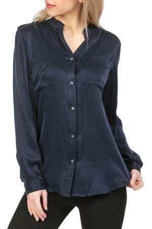 Блуза REPEAT. Цвет: синий