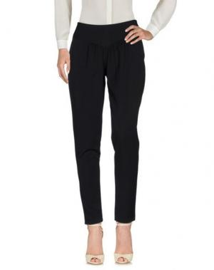 Повседневные брюки MIVITE. Цвет: черный