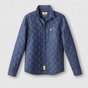 Рубашка с длинными рукавами PETROL INDUSTRIES. Цвет: темно-синий