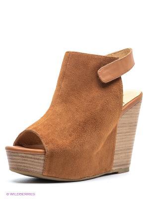 Босоножки Shoe the Bear. Цвет: коричневый