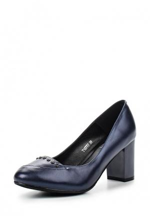 Туфли Ascalini. Цвет: синий