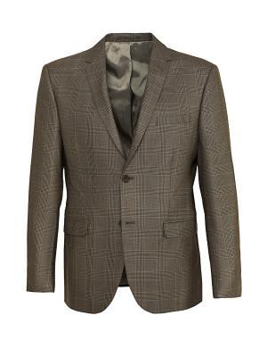 Пиджак STENSER. Цвет: коричневый