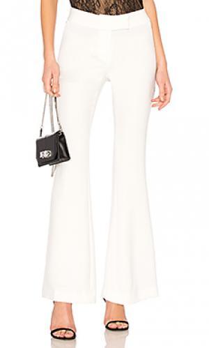 Расклешенные брюки reed RACHEL ZOE. Цвет: белый