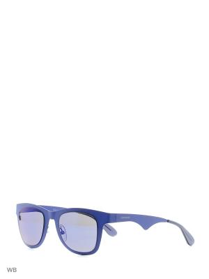 Солнцезащитные очки CARRERA 6000MT 6VX. Цвет: синий