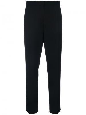 Прямые брюки Burberry. Цвет: чёрный