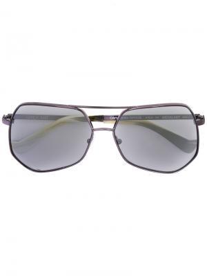 Солнцезащитные очки Megalast Grey Ant. Цвет: чёрный