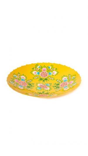 Поднос Millifiori Gift Boutique. Цвет: желтый