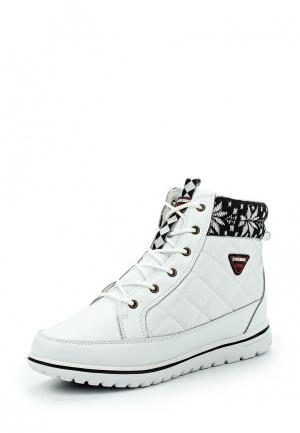 Ботинки Strobbs. Цвет: белый