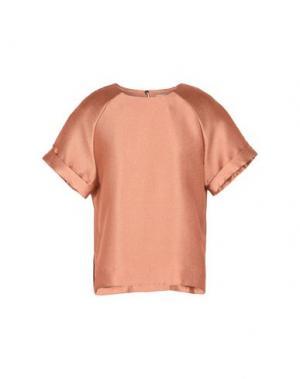 Блузка TWIST & TANGO. Цвет: ржаво-коричневый