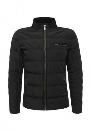 Куртка утепленная Trussardi Jeans. Цвет: черный