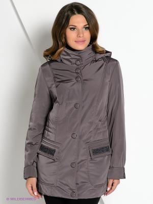 Куртка DizzyWay. Цвет: коричневый