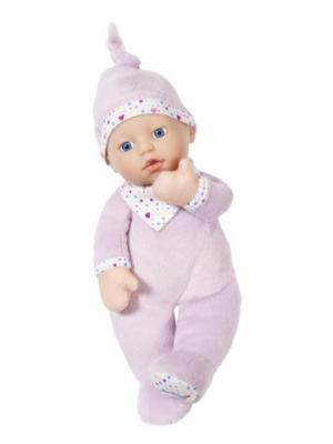Игрушка BABY born Кукла мягкая с твердой головой, 30 см, дисплей ZAPF. Цвет: розовый