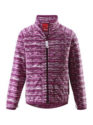 Куртка флисовая Reima. Цвет: малиновый