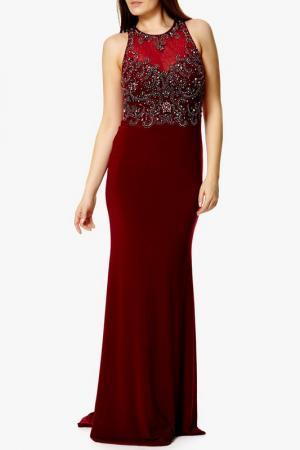 Платье Dynasty. Цвет: burgundy