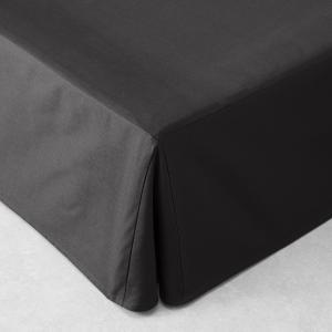 Чехол для кровати со встречными складками  Touril, хлопок AM.PM.. Цвет: белый,угольно-серый