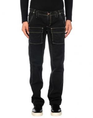 Повседневные брюки JAGGY. Цвет: стальной серый
