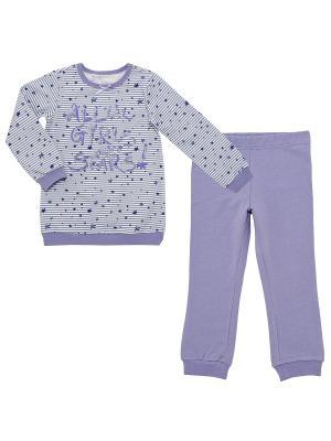 Пижама CHICCO. Цвет: сиреневый
