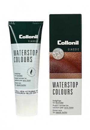 Крем для обуви Collonil. Цвет: коричневый