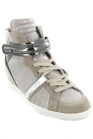 Ботинки Barbara Bui. Цвет: серый
