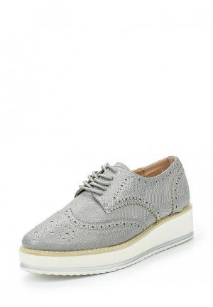 Ботинки Catisa. Цвет: серебряный