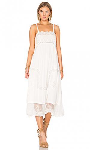 Платье peaches Spell & The Gypsy Collective. Цвет: белый