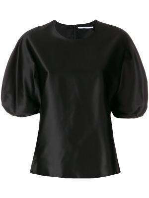 Блузка с рукавами-колокол Rosetta Getty. Цвет: чёрный