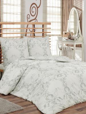 Комплект постельного белья Метель Тет-а-Тет. Цвет: светло-серый